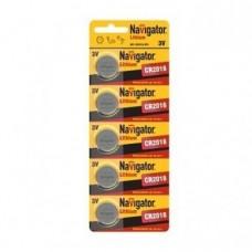 Элемент питания NBT-CR12016-BP5 94 763 NAVIGATOR