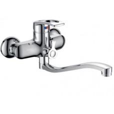 Calorie ванна-душ станд. стальной полуоборот литой  1833А38
