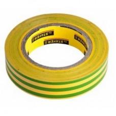 Изолента 0,13х15 мм желто-зеленая 20 метров ИЭК