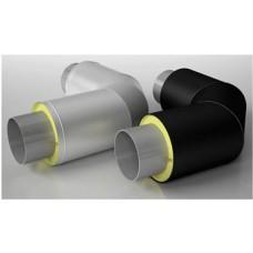 Отвод метал в ППУ изоляции D 108